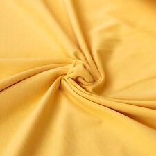 Jersey Stoff Uni GELB Baumwolljersey - Shirts Jerseystoff Einfarbig