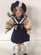 SPBH Poupée Tête Porcelaine SCHOENAU et HOFFMEISTER BURGGRUB Porcelain Doll 2