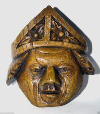 Vescovo cattolico riproduzione medievale CATTEDRALE Carving PAPA Mitre Chiesa REGALO