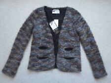 $225 NWT CYCLE Mohair / Wool Boucle Jacket Cardigan Sz. M / 4-6 New