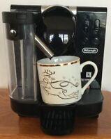 DeLonghi Lattissima EN 670.B Single Service Espresso Machine - Black/Silver
