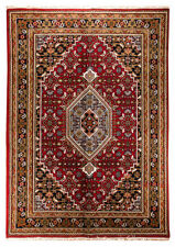 Tapis à motif Géométrique persane/orientale traditionnelle pour la maison en 100% laine