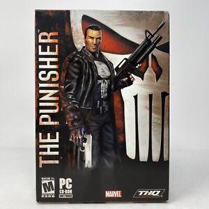 Marvel: The Punisher PC CD-Rom Game (PC, 2005) CIB w/Box & Manual