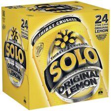 Schweppes Solo Lemon Multipack Cans 375mL 24pk