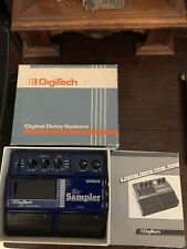 Digitech DOD PDS-2000 Digital Delay Sampler Rare Guitar Effect Pedal NOS