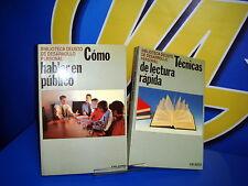 Libro TECNICAS DE LECTURA RAPIDA-COMO HABLAS EN PUBLICO