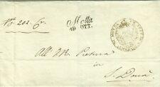 G590-LOMBARDO VENETO, PREF., DA MOTTA A SAN DONA', PRETURA DISTRETTUALE, 1827