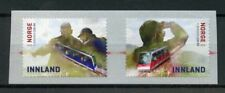 Norway 2018 MNH Floibanen Funicular 2v S/A Set Trains Railways Rail Stamps