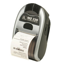 Zebra Mz220 Mz 220 Pos Point Of Sale Thermal portableLabel Printer Bluetooth