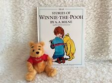 Disney Winnie the Pooh book and soft toy.