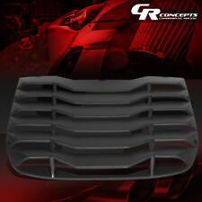 REAR WINDOW VENT LOUVER STYLE SUN SHADE COVER GUARD FOR 09-19 NISSAN 370Z COUPE