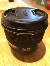 Sigma EX 50mm F/1.4 HSM DG Pentax Lens