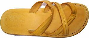 Adults Leather Biblical Sandals / Flip flops Shepherd's Field Style - Holy Land