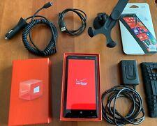 Nokia Lumia 929 Icon - 32 GB - Black (Verizon) Windows 8.1 Smartphone Bundle