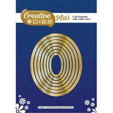 Creative Dies Plus Die Set Nesting Ovals Stitched & Pierced Collection