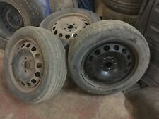 Vw 16 In Spare Steel Wheel 205/55/16 Caddy Golf Passat Skoda Seat Audi