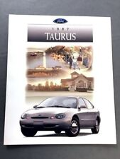 1997 Ford Taurus and SHO 24-page Sales Brochure Catalog