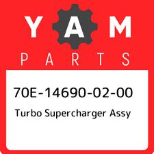 70E-14690-02-00 Yamaha Turbo supercharger assy 70E146900200, New Genuine OEM Par