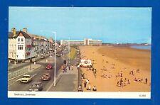 Postcard Seafront Swansea A Dennis PC 2552 Photocolour