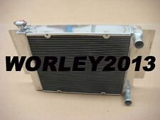 3 row aluminum radiator for Mazda RX2 RX3 RX4 RX5 RX7 without heater pipe manual