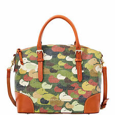 NWT*Dooney & Bourke*Camouflage Duck Domed Satchel*Robertson Family*16290F