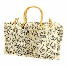 Samantha Thavasa Tote bag Beige Brown Woman Authentic Used T6096