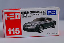 TD Dream Tomica Toy Cars Bx115 Bentley CONTINENTAL GT