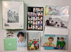 RESTOCK BTS 2020 SEASON'S GREETING Official Desk Calendar Diary DVD Postcard ID