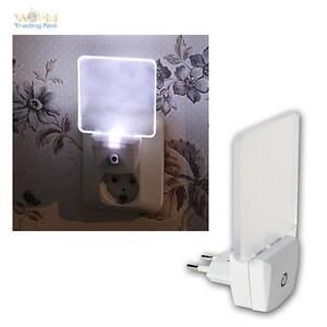 LED Night With Sensor Nightlight Orientation for Socket Emergency Lighting