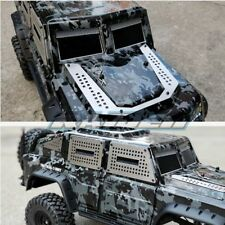 Traxxas TRX-4 Tactical Unit Stainless Steel Body Armor Windows Engine Protector
