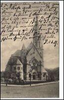 Hannover Niedersachsen AK 1915 Strassen Partie an der Markuskirche Kirche Church