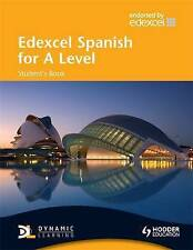 Edexcel Spanish for a Level: Student's Book With Cd-rom-ExLibrary