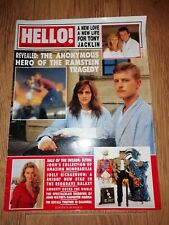 HELLO ! MAGAZINE SEPTEMBER 17 , 1988 TONY JACKLIN , JOELY RICHARDSON , M CAINE