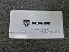car truck repair manuals literature for ram ebay rh ebay com 2011 ram 2500 repair manual 2011 ram repair manual