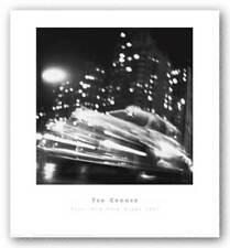 Taxi, New York Night 1947 Ted Croner Art Print 18x18