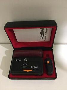 Rollei A110 Hochwertige mini Pocketkamera (SEHR GUTER GEBRAUCHSZUSTAND)