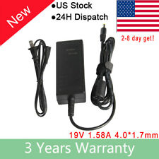 19V 1.58A 30W AC Adapter Charger For HP Compaq Mini 110-1000 210-1091NR +Cord FC