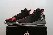 adidas D Rose 9 AQ0039 Black White Red Timberwolves Basketball Volleyball Shoes