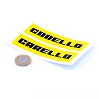 Carello Stickers Car Rally Racing Decals Vinyl 100mm x2 Classic Car