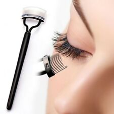 New Steel Needles Eyelash Comb Lash Separator Lift Curl Metal Brush Makeup Tools