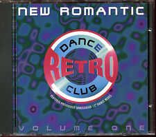 DANCE CLUB RETRO - VOLUME ONE NEW ROMANTIC - 12'' VERSIONS CD COMPILATION [1894]