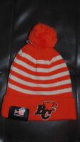 BC Lions New Era Hat CFL Cap Tuque Mens Womens  New NWT Winter Hat