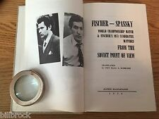 Fischer-Spassky & Fischer's 1971 Candidates Matches from Soviet Point of View HB