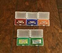 Nintendo Gameboy Advance Pokemon games .repros, USA SELLER