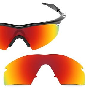 Polarized Red Replacement Lenses for Oakley M Frame Strike