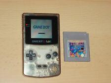 Nintendo Gameboy Color Konsole +  Tetris Spiel Gb Gbc transparent