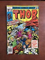 Thor #259 (1977) 7.5 VF Marvel Bronze Age Comic Book Newsstand Edition Gargoyle