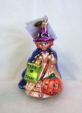 Radko Ornament Great Hexpectations #00-366-0 Witch Trick or Treat (Rl5#16)