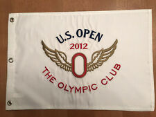 2012 US OPEN THE OLYMPIC CLUB  EMBROIDERED Golf Pin FLAG Webb Simpson