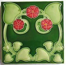 Art nouveau tile. Henry Richards. C1905.